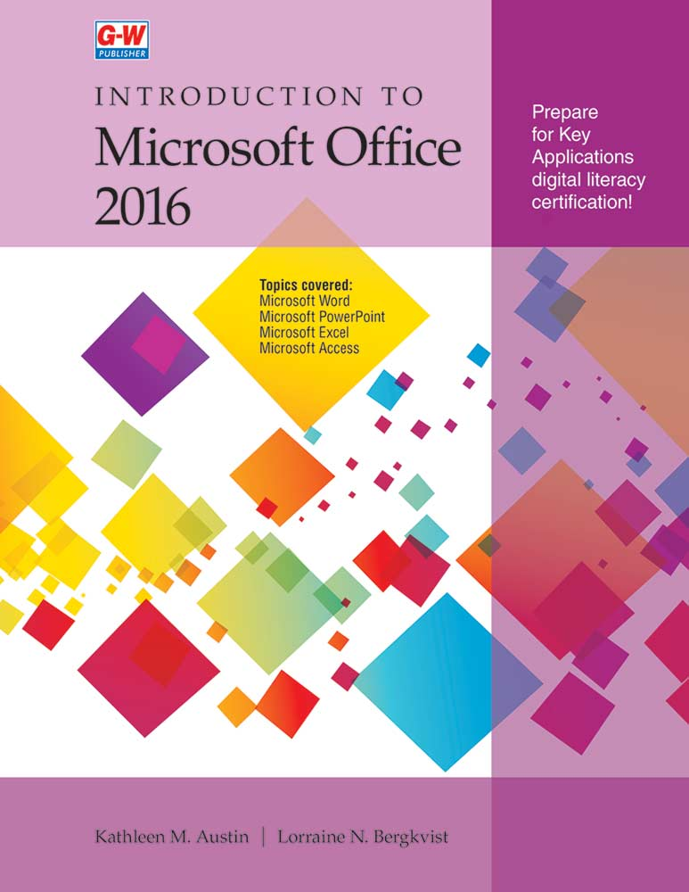 Introduction to Microsoft Office 2016