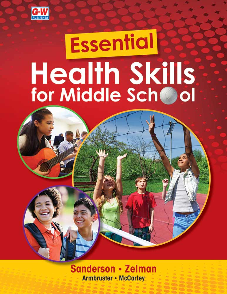 Essential Health Skills for Middle School cover